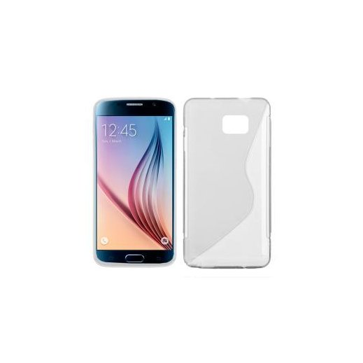 Funda Silicona Samsung Galaxy S6 Transparente - Foto 1