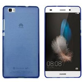 Funda Silicona Huawei P8 Azul