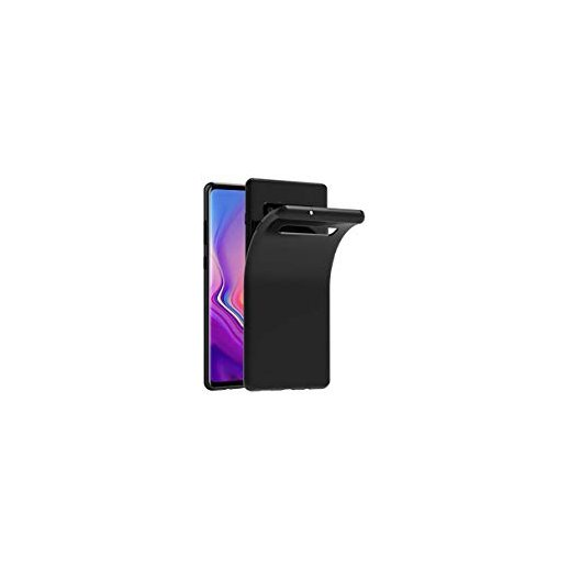 Funda Silicona Samsung S10 Plus Negra - Foto 1