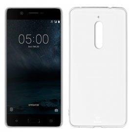 Funda Silicona Nokia 5 Transparente