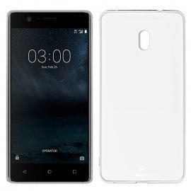 Funda Silicona Nokia 3 Transparente