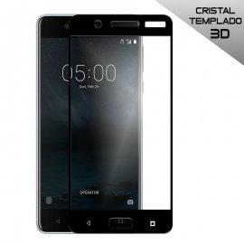 Protector Cristal Templado Nokia 5 Negro