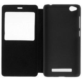 Funda Libro Xiaomi Redmi 4a Negra