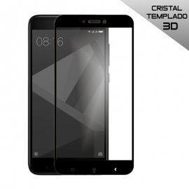 Protector Cristal Templado Xiaomi Note 4x 3d Negro