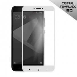 Protector Cristal Templado Xiaomi Note 4x 3d Blanco