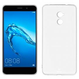Funda Silicona Huawei Y7 Transparente