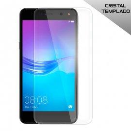 Protector Cristal Templado Huawei Y5 Y6 2017