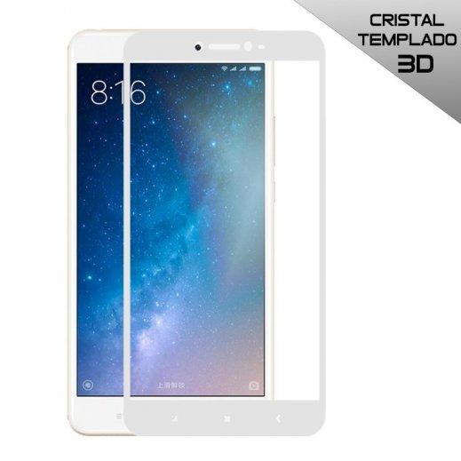 Protector Cristal Templado Xiaomi Mi Max 2 3d Blanco - Foto 1
