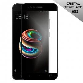 Protector Cristal Templado Xiaomi A1 Mi 5x Negro