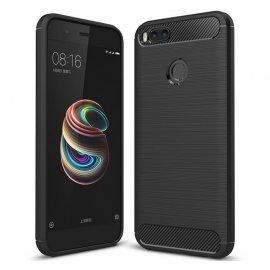 Funda Silicona Xiaomi Mi A1 Mi 5x Negra