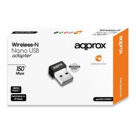 Adaptador Usb Nano 150mps Approx Wireless-n