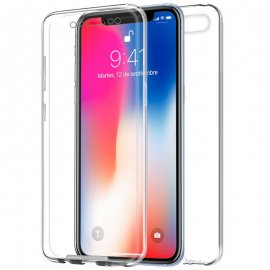 Funda Silicona 3d Iphone X Transparente