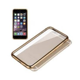 Carcasa para Iphone 6/6s Borde Dorado