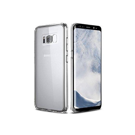 Funda de Libro Trasparente Samsung Galaxy S8 Plus - Foto 1