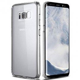 Funda de Libro Trasparente Samsung Galaxy S8 Plus