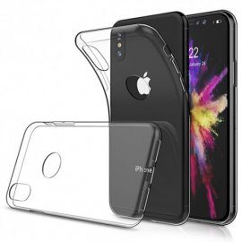 Funda Silicona Transparente Iphone X