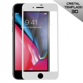 Protector Cristal Templado Iphone 7 Plus 8 Plus 3d Blanco