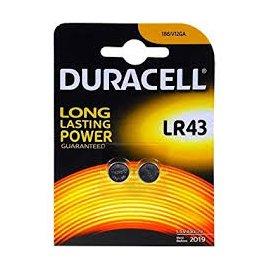 Pila Lr43 Boton Duracel