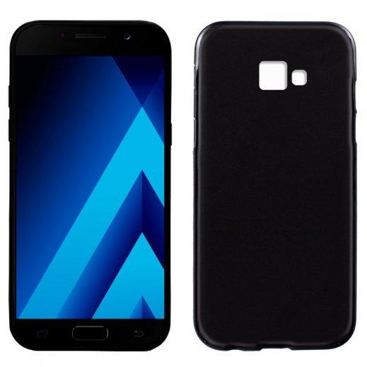 Funda Silicona Samsung Galaxy A5 2017 Negra - Foto 1