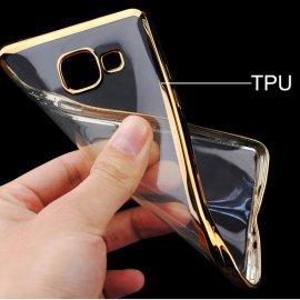 Funda Silicona Transparente Filos Dorado Xiaomi Mi A1 Mi 5x