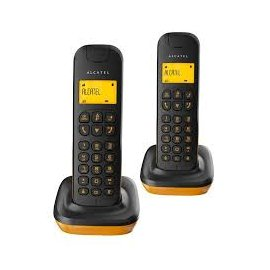 Alcatel Duo D135 Negro Naranja