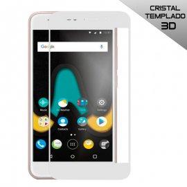 Protector Cristal Templado Wiko u Pulse 3d Blanco