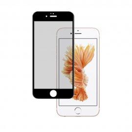 Protector Cristal Templado Iphone 6 Negro 3d