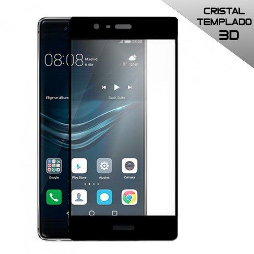 Protector Cristal Templado Huawei P9 Lite 3d Negro - Foto 1