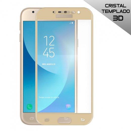 Protector Cristal Templado Samsung J3 Dorado 2017 3d - Foto 1