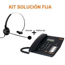 Telefono Sobremesa Alcatel Temporis 580 Negro + Auricular Speaker