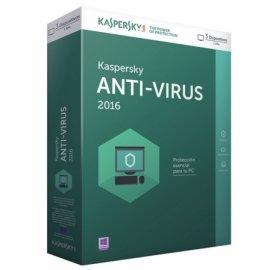 Kaspersky Antivirus 2018/2019 3 Licencias 1 Año