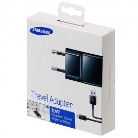 Cargador Original Samsung con Cable Micro Usb 2a Negro