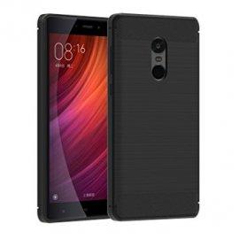 Funda Silicona Xiaomi Note 4x Negra