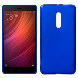 Funda Silicona Xiaomi Note 4x Azul