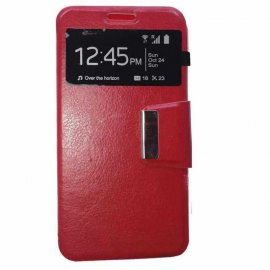 Funda Libro Huawei P8 Lite 2017 Roja