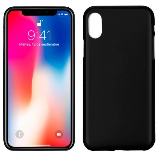 Funda Libro Iphone X/xs Negra - Foto 1
