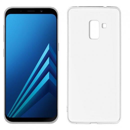 Funda Silicona Samsung Galaxy A8 2018 Transparente - Foto 1