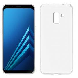 Funda Silicona Samsung Galaxy A8 2018 Transparente