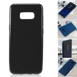 Funda Silicona y Aluminio Samsung S8 Negra