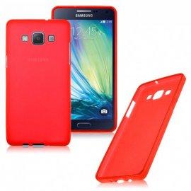 Funda Silicona Samsung A8 Roja