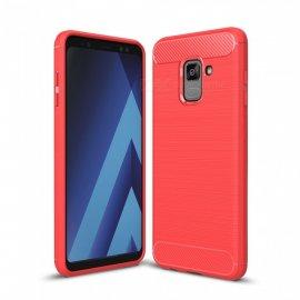 Funda Silicona Samsung S9 Roja