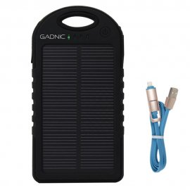 Power Bank de 6000 Map Carga Solar y Cargador
