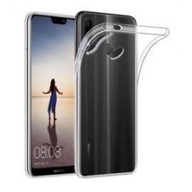 Funda Silicona Huawei P20 Lite Transparente