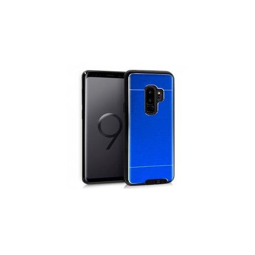 Funda Silicona y Aluminio Azul Samsung S9 - Foto 1