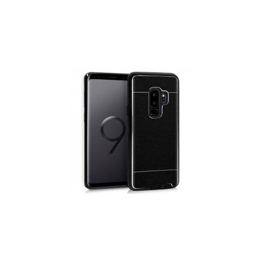 Funda Silicona y Aluminio Negro Samsung S9 Plus - Foto 1