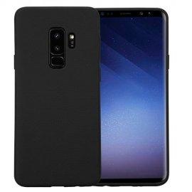 Funda Silicona Samsung S9 Plus Negra