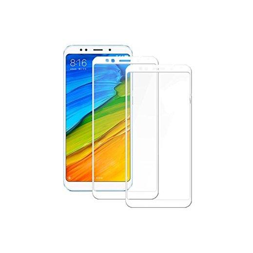 Protector Cristal Templado Xiaomi Redmi 5 Plus Blanco - Foto 1