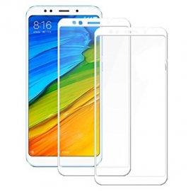 Protector Cristal Templado Xiaomi Redmi 5 Plus Blanco