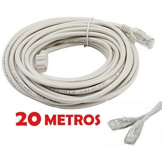 Cable de Red Cat.6 Premontado 20m - Foto 1