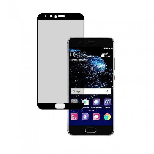 Protector Cristal Templado Huawei P10 3d Negro - Foto 1
